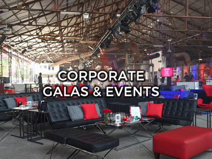 CORPORATE GALAS& EVENTS